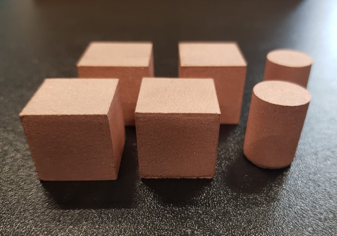 Copper samples LB-PBF
